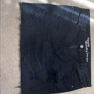 Hippy Laundry black mini skirt